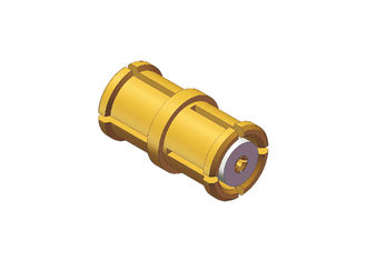 Brass Rf Connector Adapter Straight SMP Female To SMP Female With Length 6.45mm