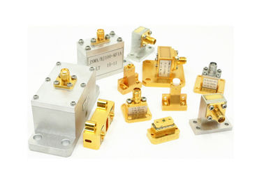 WR90 WR75 WR42 SMA Female Waveguide To Coaxial Adapter 8.15 GHz To 22 GHz