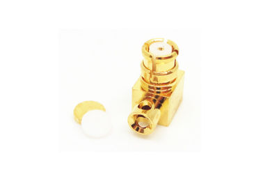 DC To 40 GHz SMP RF Connector Coaxial Connector For RF Microwave Field