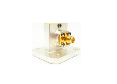 WR90 Waveguide to Coax Adapters SMA Female Right Angle Launch Adapters